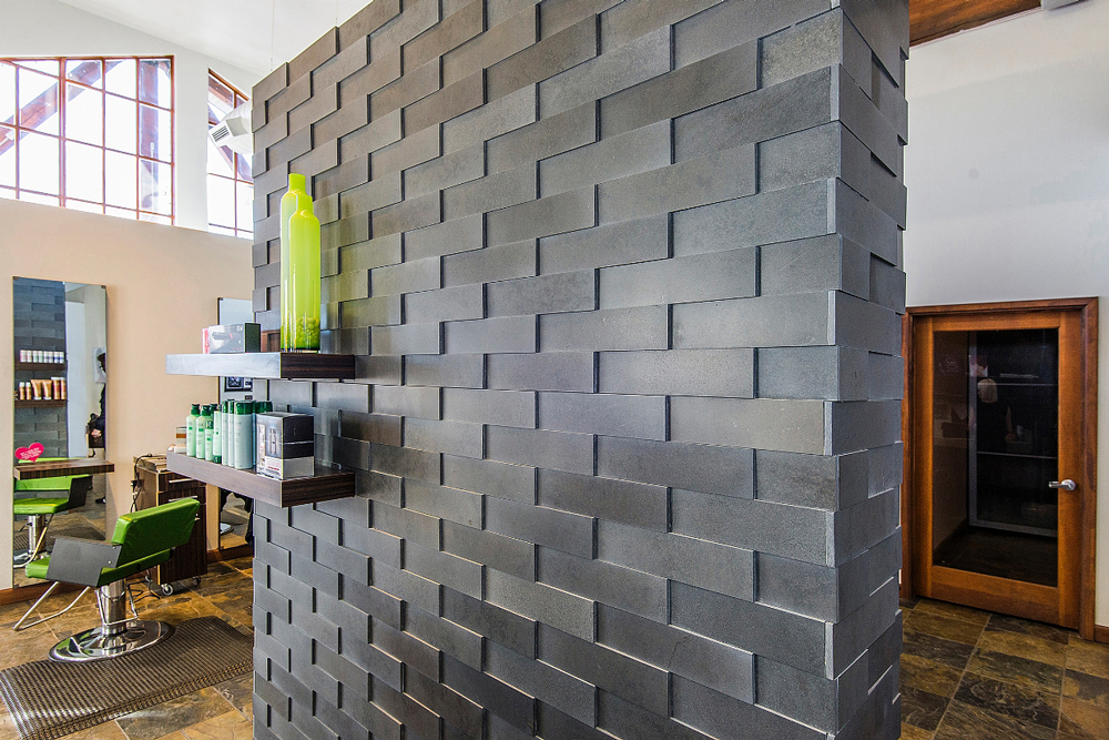 Project 7 Commercial Feature Wall 3D Stone And Tile
