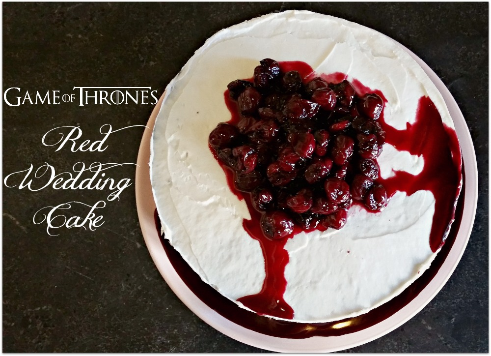 Game of Thrones Boozy Red Wedding Cake     Morsels   Moonshine Game of Thrones Boozy Red Wedding Cake