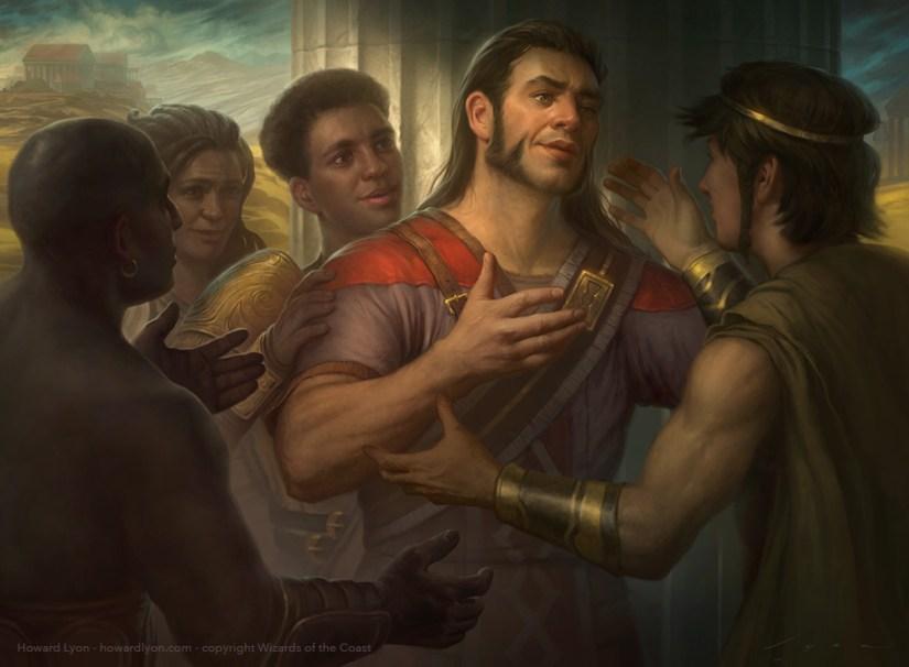 Image result for heartwarming redemption art mtg