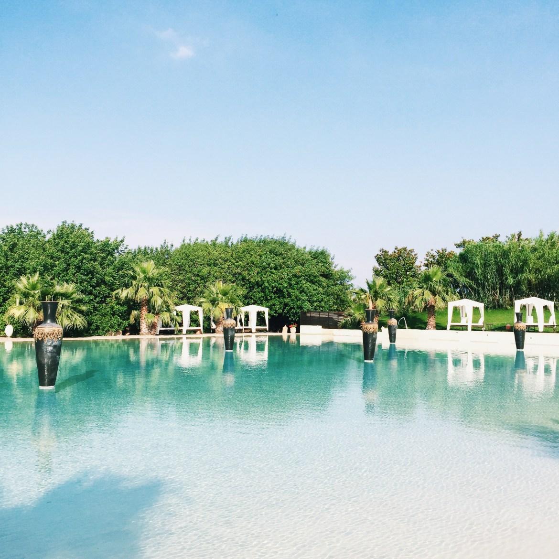 The gorgeous pool atMasseria & Spa Luciagiovanni