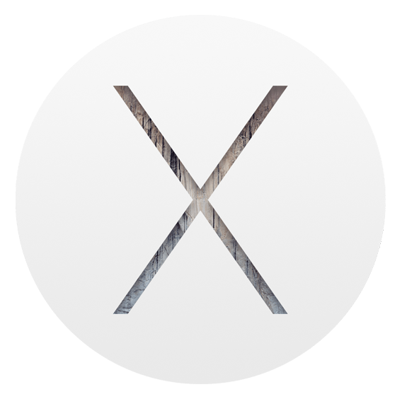 Mac OS X 10.10 logo from apple.com