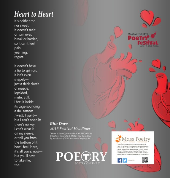 Poetry on the T     Mass Poetry Rita Dove   Heart to Heart