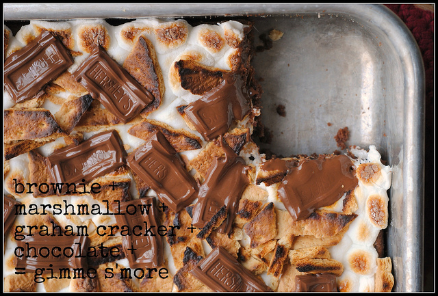 S'mores Brownies- Prevention RD