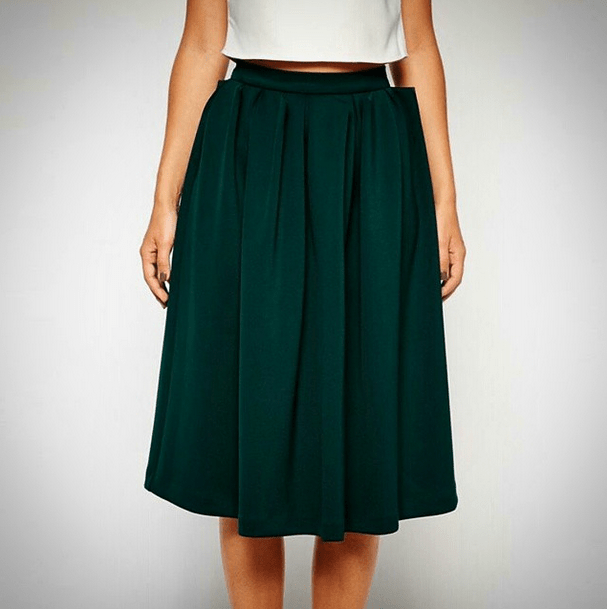 Fabulous Green Skirt from ASOS!!!