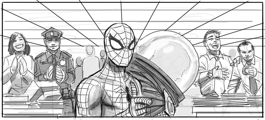 Sam Raimi's Spider-Man 4 Concept Art Revealed 8
