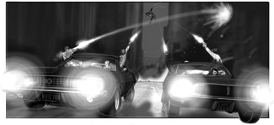 Sam Raimi's Spider-Man 4 Concept Art Revealed 19