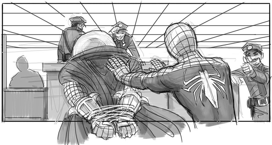 Sam Raimi's Spider-Man 4 Concept Art Revealed 10