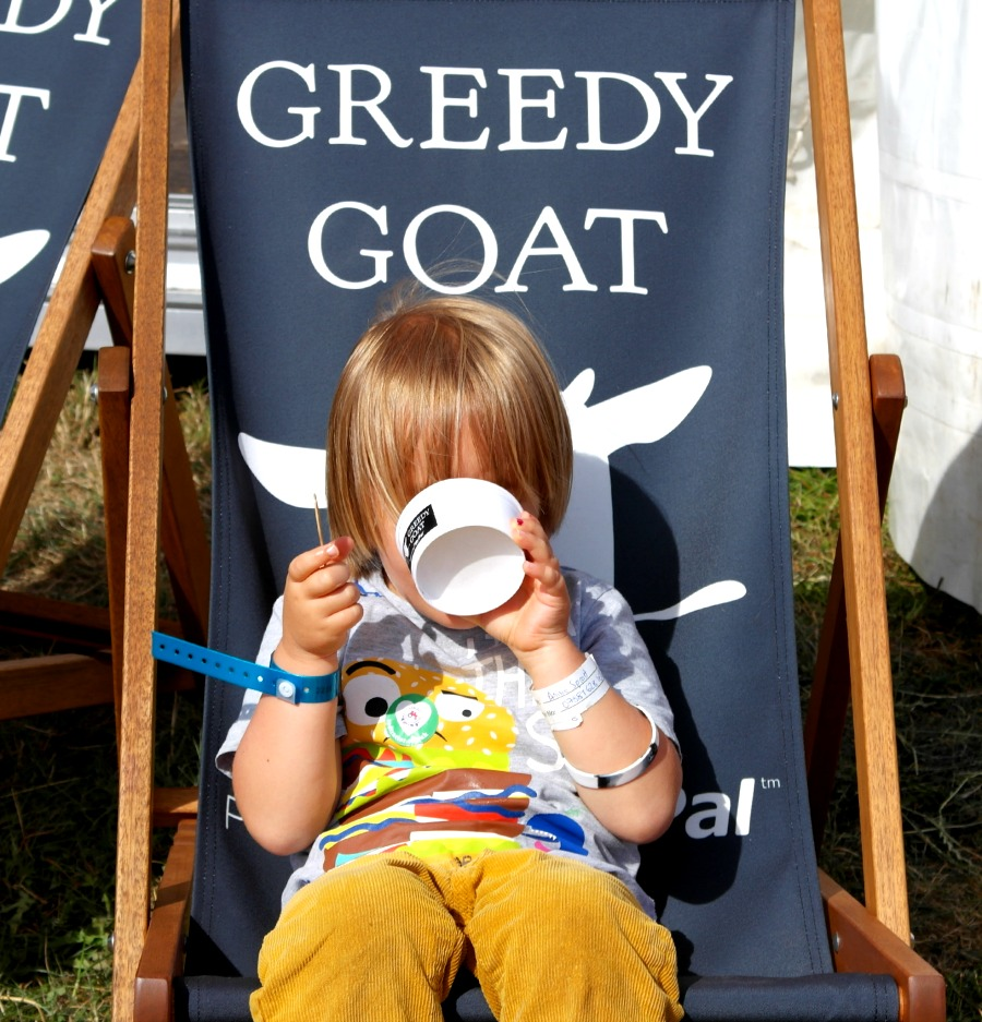 The Greedy Goat at The Big Feastival 2013