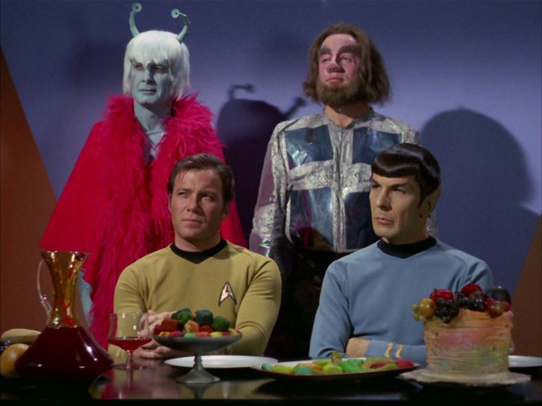 Kirk and Spock are having none of this.