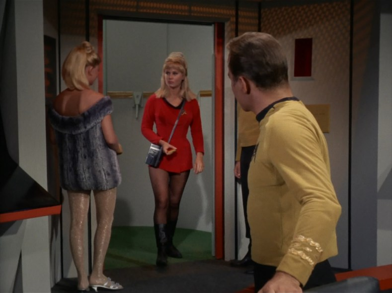 Captain Kirk has a problem.