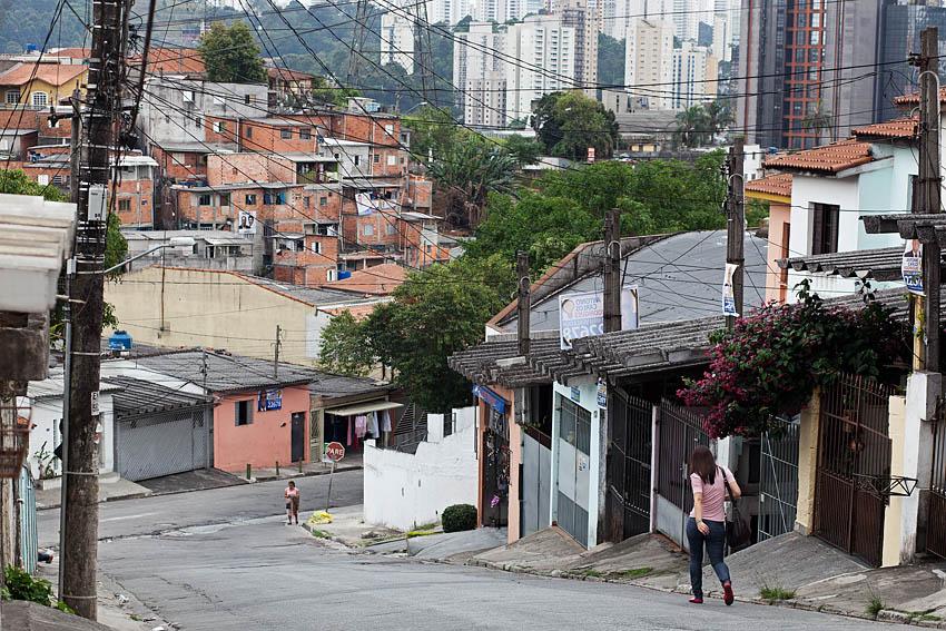 Favela Heliopolis, São Paulo, Brazil