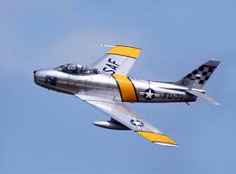 The USA's response to the MIG-15 - The F-86 Sabre. Source