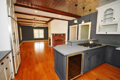 Farmhouse Plans Large Kitchens