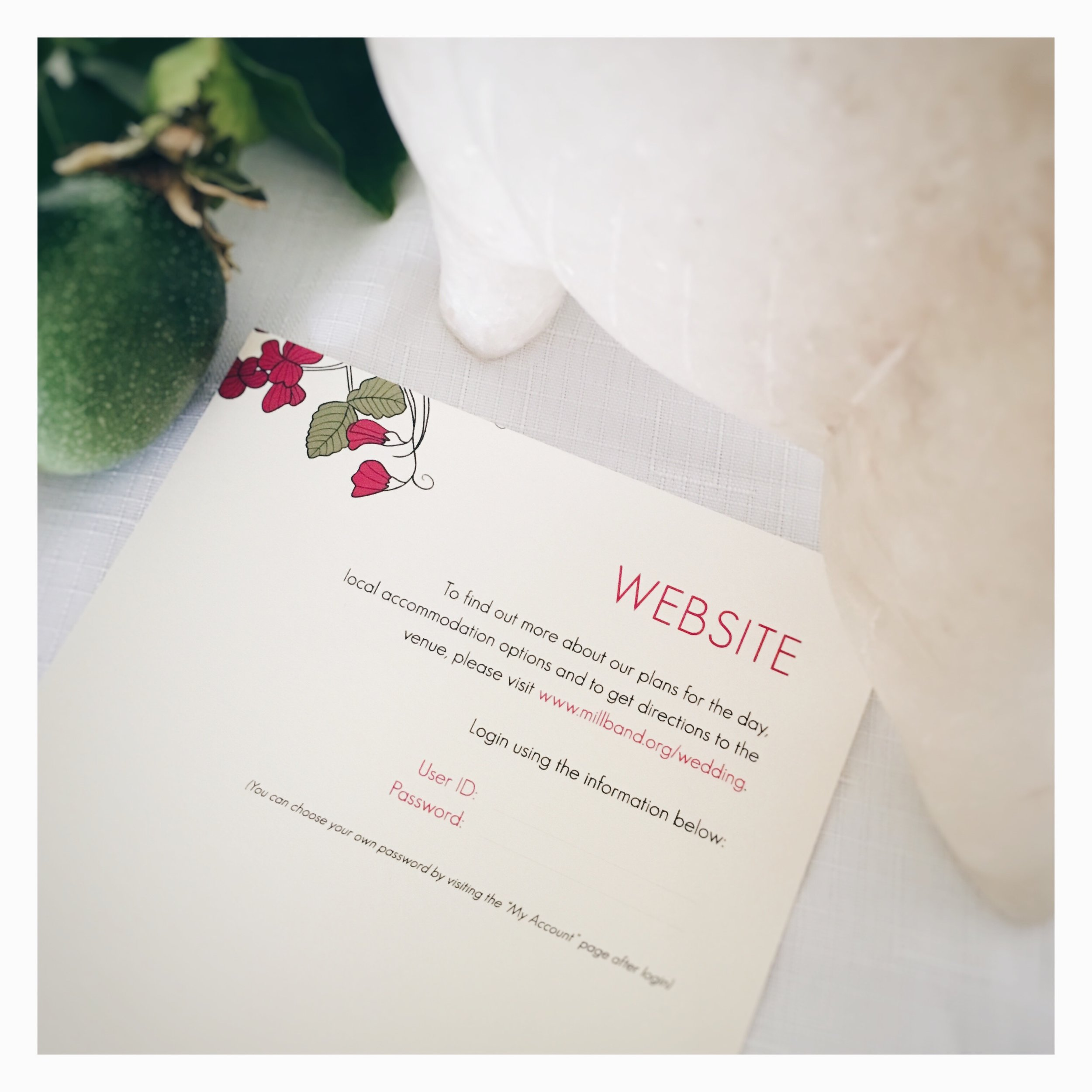 Bespoke By Katha wedding website with password