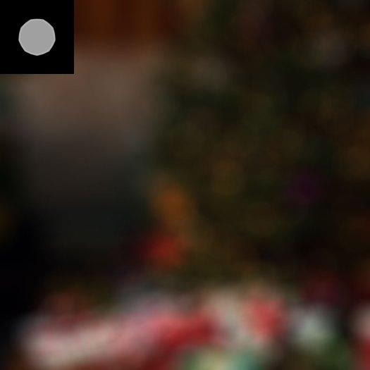 Focus blur kernel, focus blur in gamma space