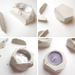 Diy Faceted Clay Tea Light Holders Gathering Beauty