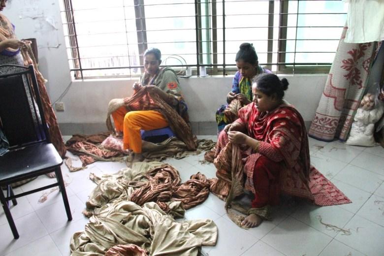 Fair trade factory in Dhaka, Bangladesh Hannah Theisen Life Style Justice
