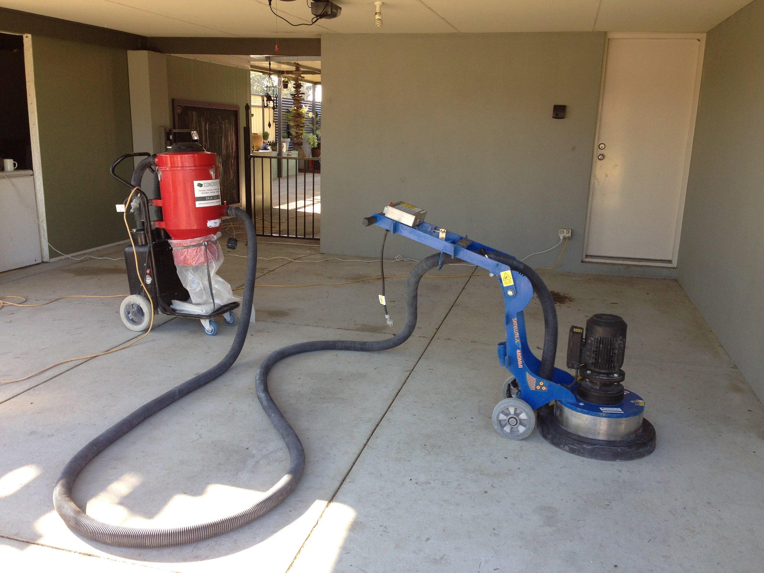 concrete hire