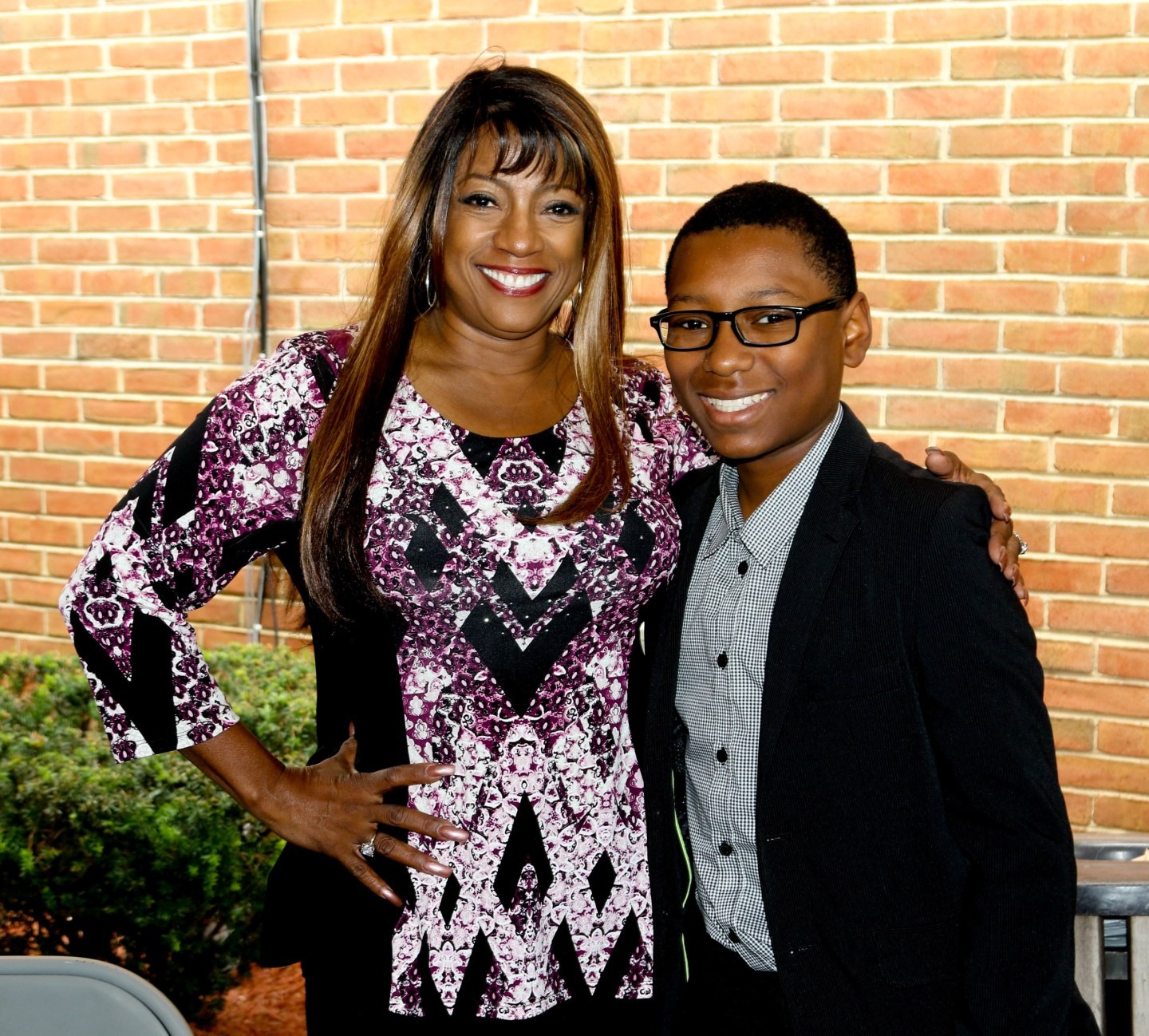 Bern Nadette Stanis and young Henry Davis                                                   photo: Anthony Moore