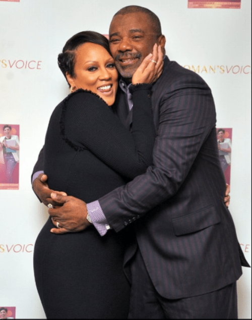 Lady Nakia with her husband Bishop Donald Wright  photo: Bill Hart photography