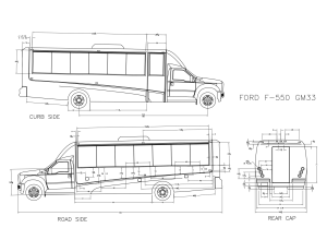 GM33 Shuttle Bus | Ford F550 Chassis | Grech Motors