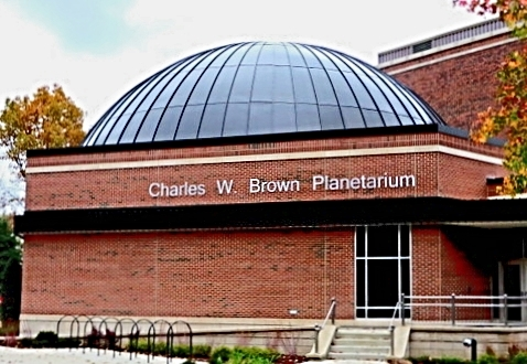 Image result for ball state planetarium