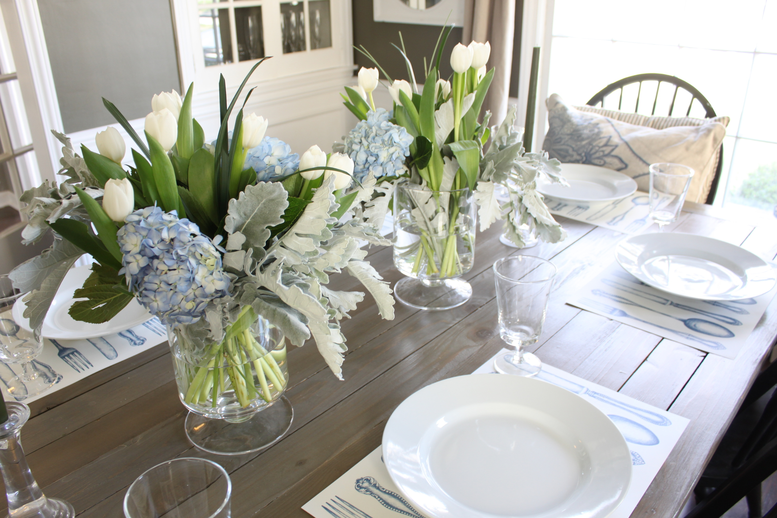 Easter Table Setting 2016 The Fat Hydrangea