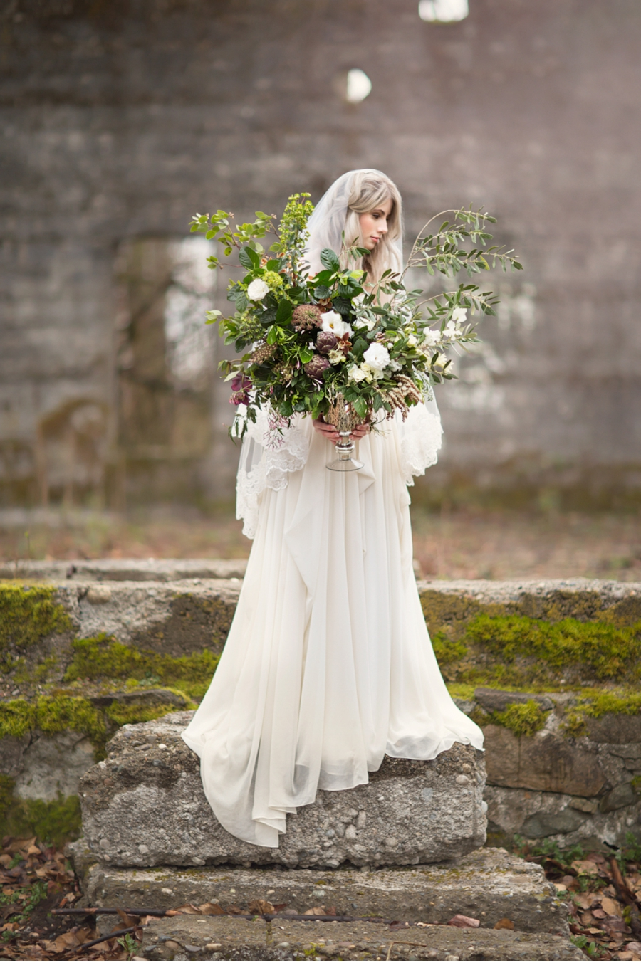 Vale Vine Versatile Bridal Style Among Ruins Home