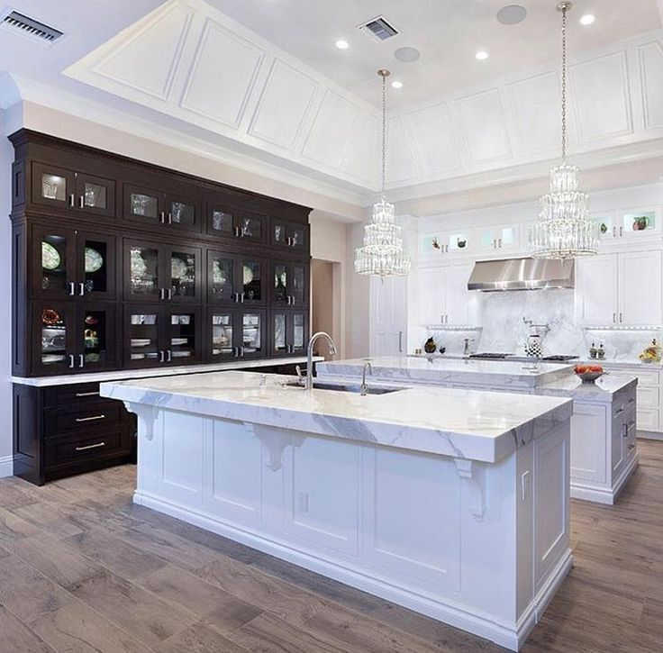Kitchens With Double Islands Toronto Designers