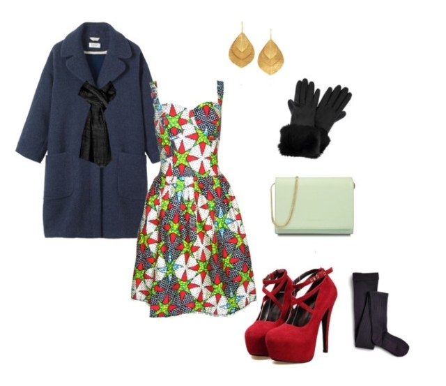 Dress:Fashion Conscience|| Coat:Toast || Shoes:Club Culture|| Clutch:Charles & Keith|| Tights:Sperry Top-Sider|| Earrings: The Outnet || Gloves:Pret a Beaute