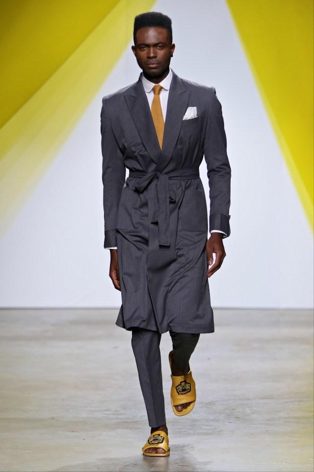 I love this model...He's such a star! @mannikwen
