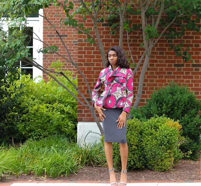Original post here. African Print Jacket by Yetunde Sarumi. Shop here - shopys.co and save 10% with code: MEMKOH