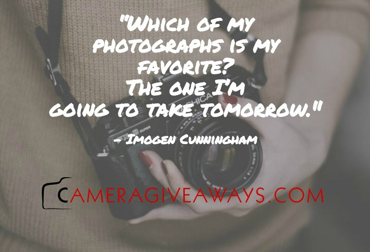 13 Awesome Photography Quotes We Love     CameraGiveaways com Today we wanted to share a few awesome photography quotes that we love   Hopefully these will bring you a little bit of inspiration today and every  day