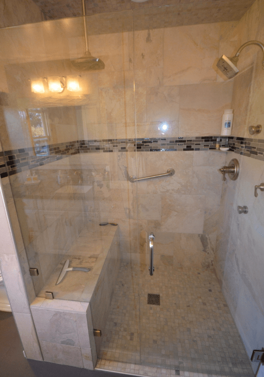 Curbless Shower Design Amp Installation New Life Bath