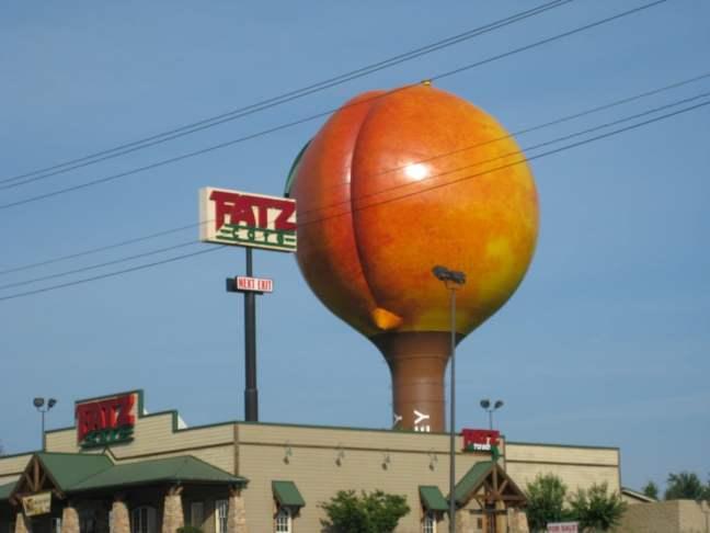 Giant Peach, or Sunburnt Butt?