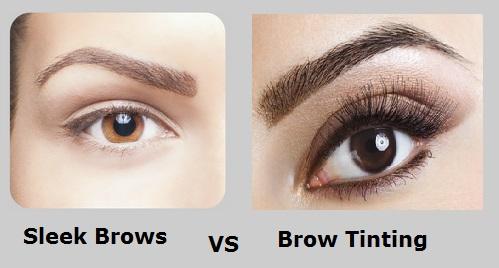 Sleek Brows Vs Brow Tinting HighBrow Beauty Eyelash