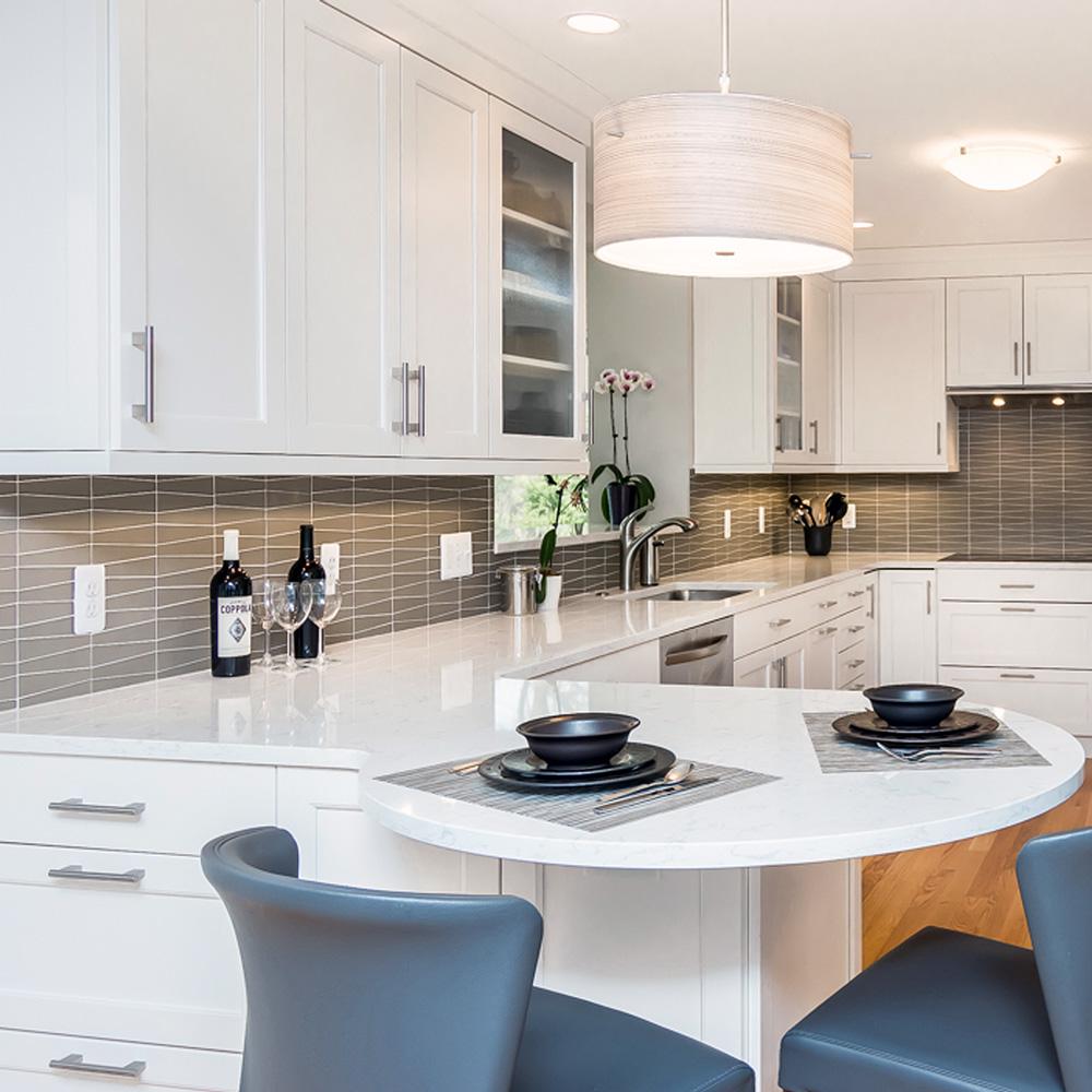 Quartz Vs Granite Countertops A Kitchen Remodel Comparison Forward Design Build Remodel
