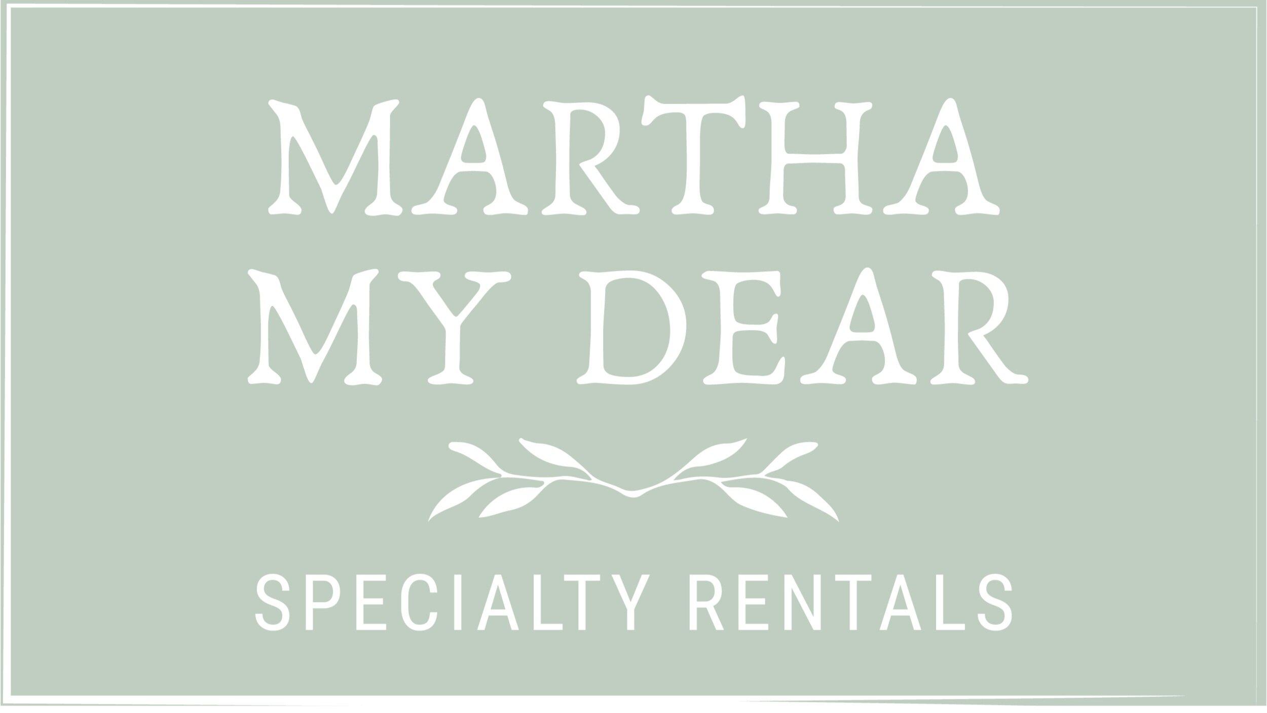 www marthamydearrentals com