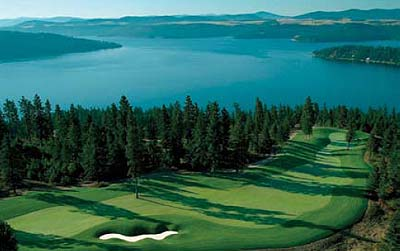 Coeur d Alene Boat Rentals   Lake Coeur d Alene boat rentals The Black Rock Golf Course is a beautiful 18 hole layout designed by  architect Jim Engh  In 2003 the course was named  Best New Private Golf  Course  by Golf