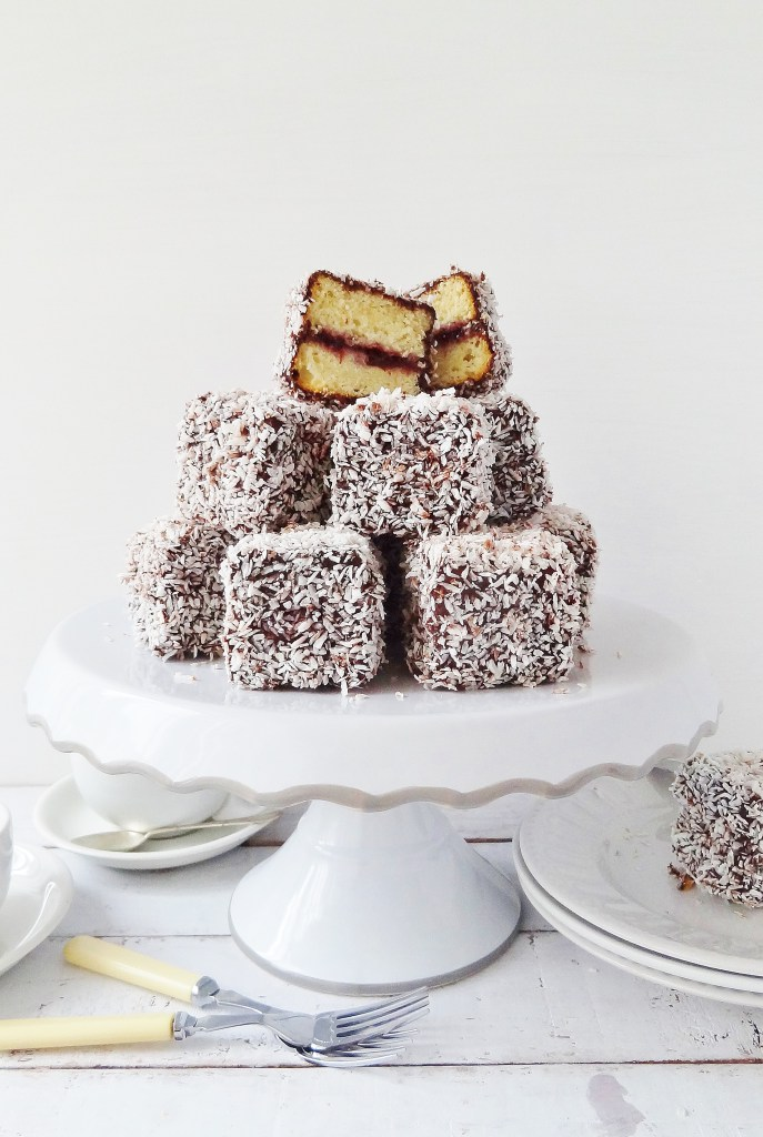 Cherry Lamingtons via Domestic Gothess