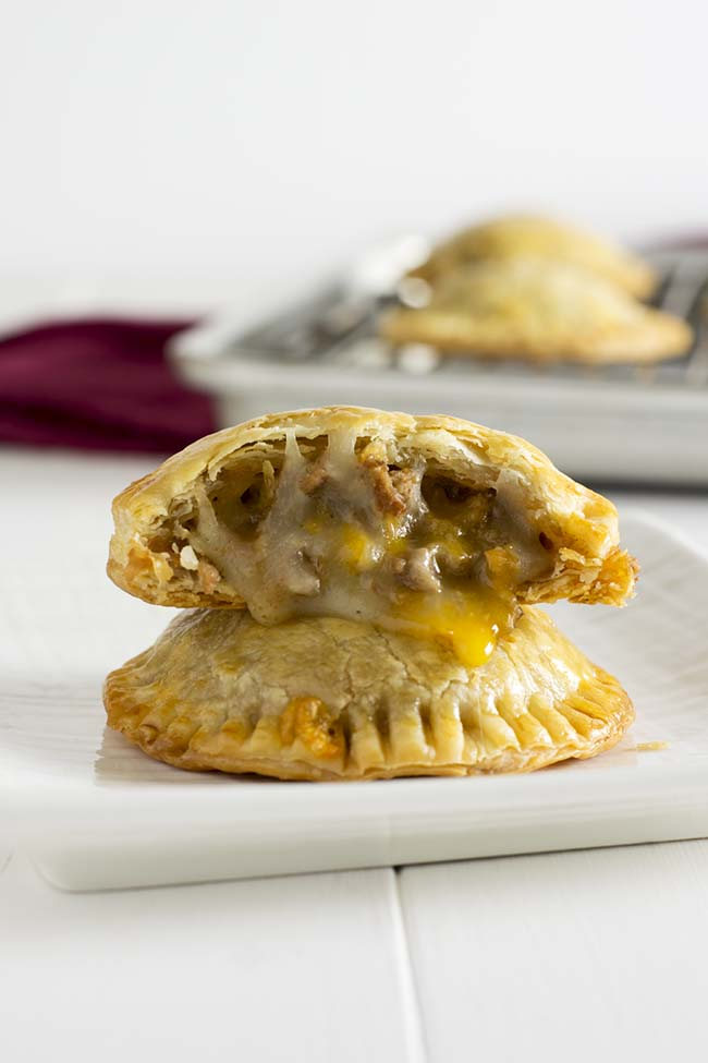 Taco Hand Pies via Kitchen Gidget