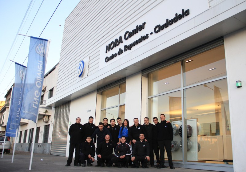 Nora Center: primer centro de distribución de repuestos VW 1