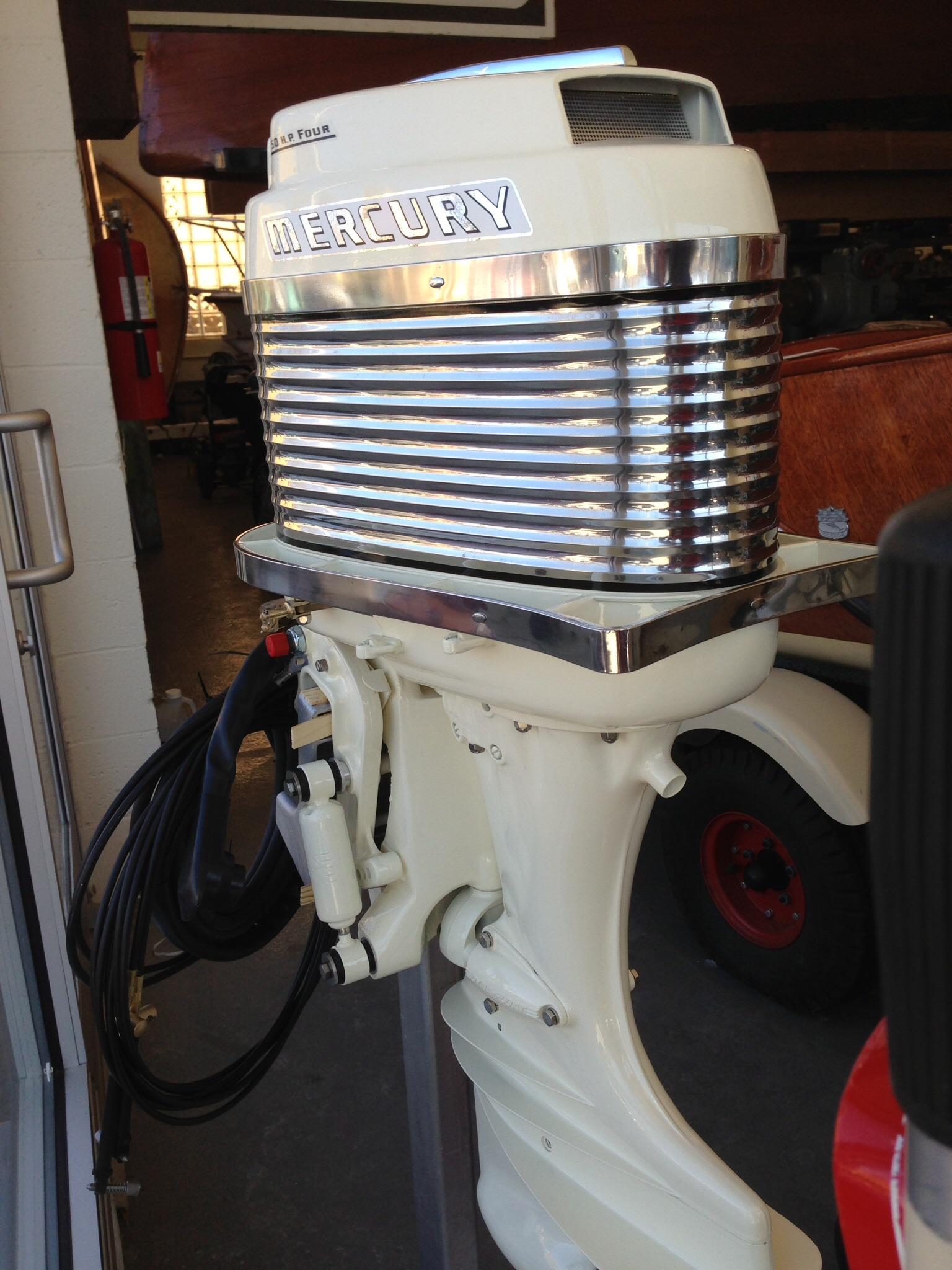 1972 Mercury 50 Hp Outboard