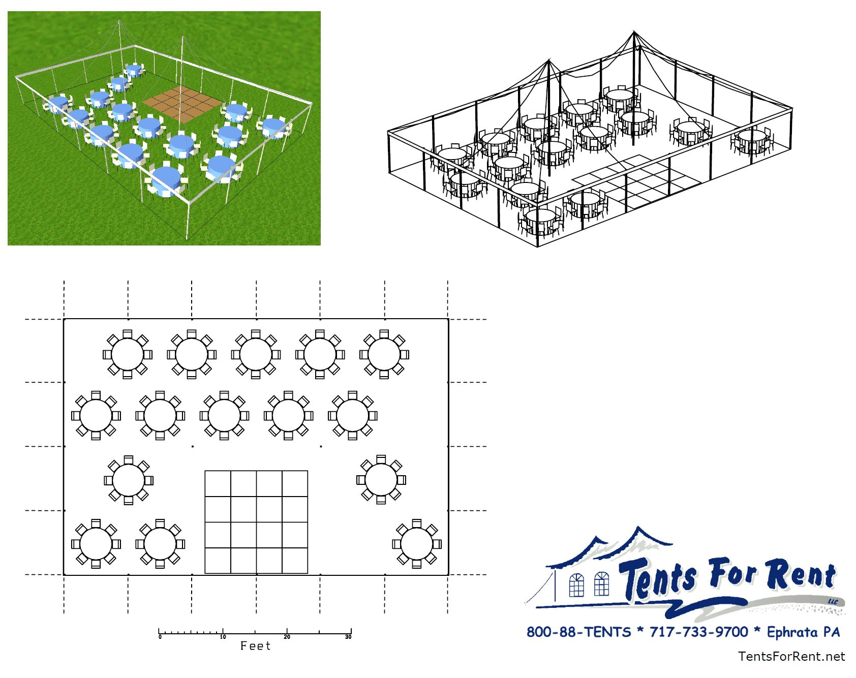Table Layouts For Weddings