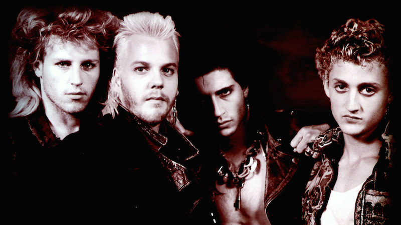 The Lost Boys are an inspiration to Halloween costumers everywhere.