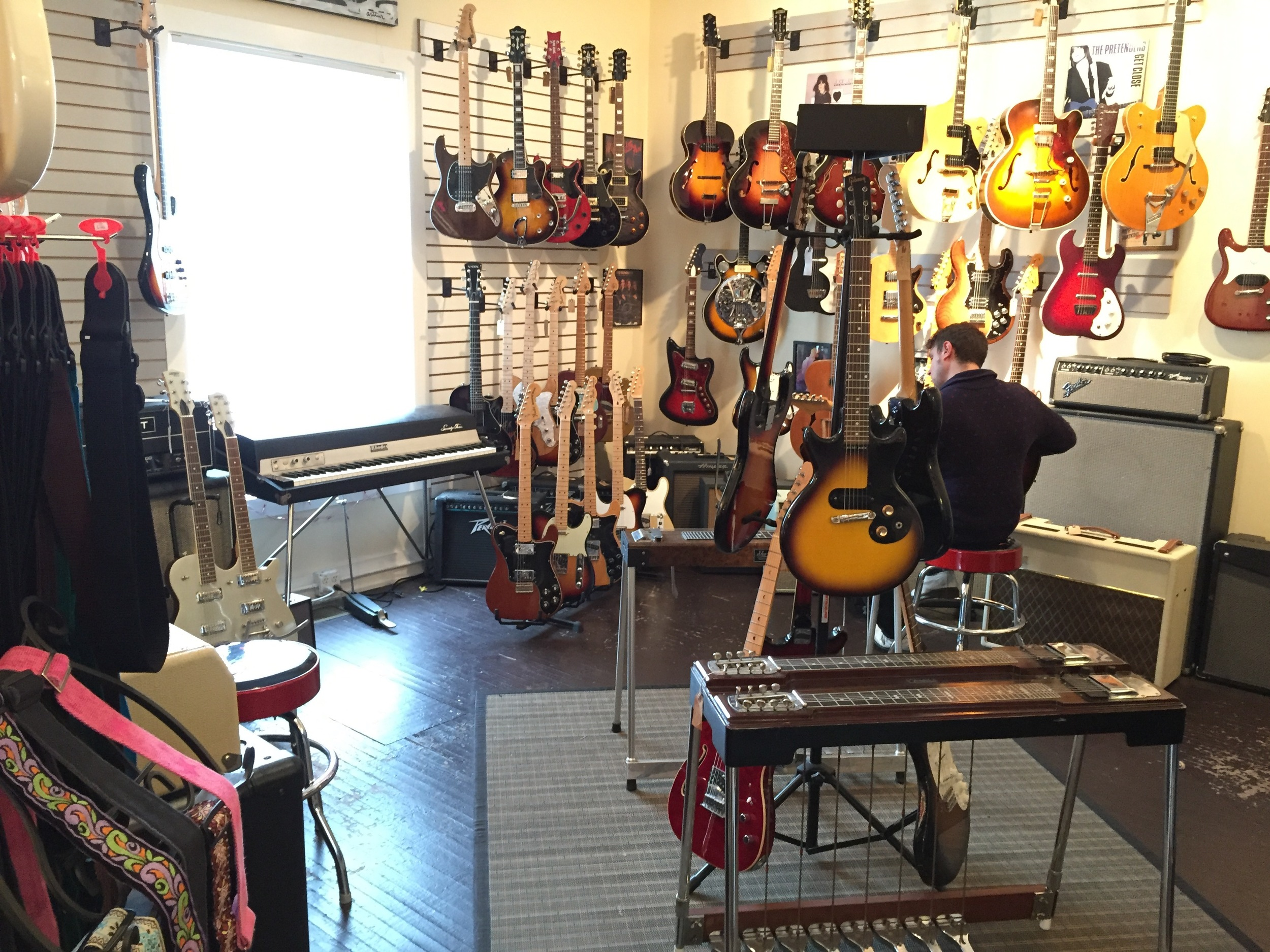Fanny's specializes is affordable vintage instruments. There's always new stuff coming through, so it's always fun to stop by when you're in the neighborhood.