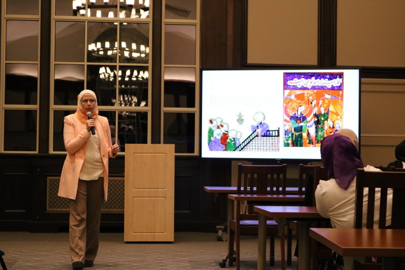 Lecture in Nov.8, discusses the development of Islamic art from its inception till modern times and its impact on world history and culture. Game and dinner offers after the lecture. (Photo by Congyang An/The Daily Campus)