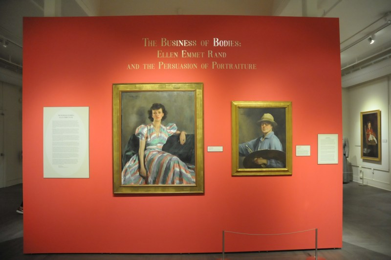 The Benton holds an exhibit of the works of Ellen Emmet Rand, a renowned American portrait painter and business women from the early twentieth century, November 28, 2018. (Natalija Marosz/The Daily Campus)