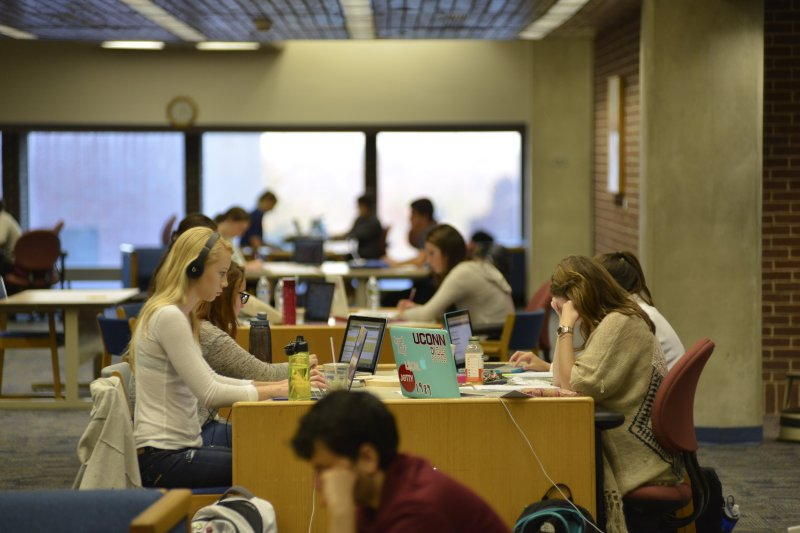 Bunker down, get to studying and ace your finals. You'll be free in no time. (File/ The Daily Campus)