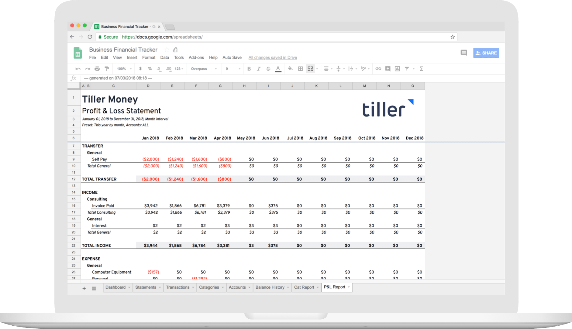 A New Automated Business Spreadsheet For Freelancers